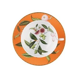Tresor Fleuri Teacup extra, D11.4 x H4.5cm, orange