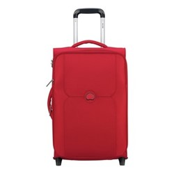 Mercure 2 wheel slim cabin trolley, 55cm, red