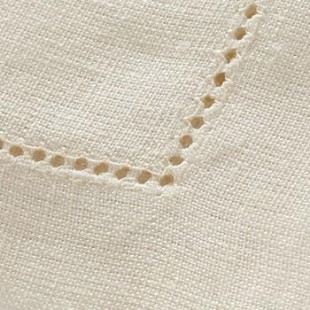 Florence Tablecloth, 170 x 170cm, cream