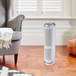 Air purifier with partical sensor