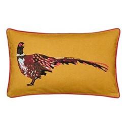 Heritage Peony Cushion, L30 x W50 x H10cm, gold