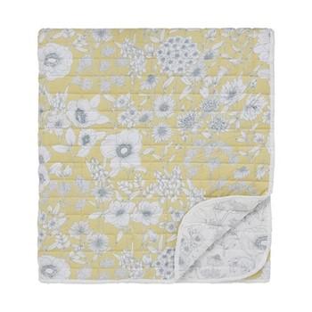 Maelee Throw, L265 x W260cm, yellow
