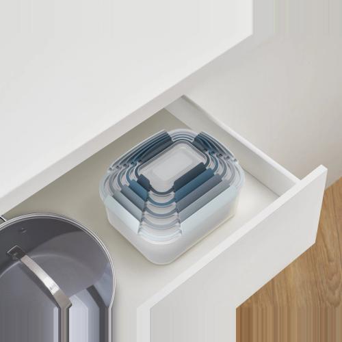 Editions 5 piece nest container set, Sky Blue