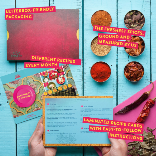 Indian Restaurant Favourites Spicebox subscription, 12 months