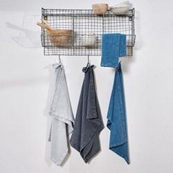 Abeto Tea towel, 70 x 50cm, washed charcoal
