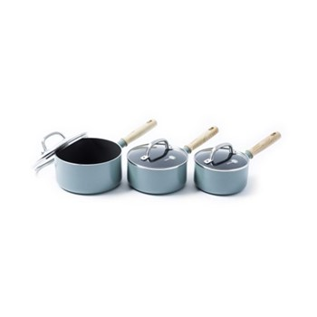 Mayflower Saucepan set, blue