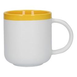 Barcelona Mug, 480ml, mustard