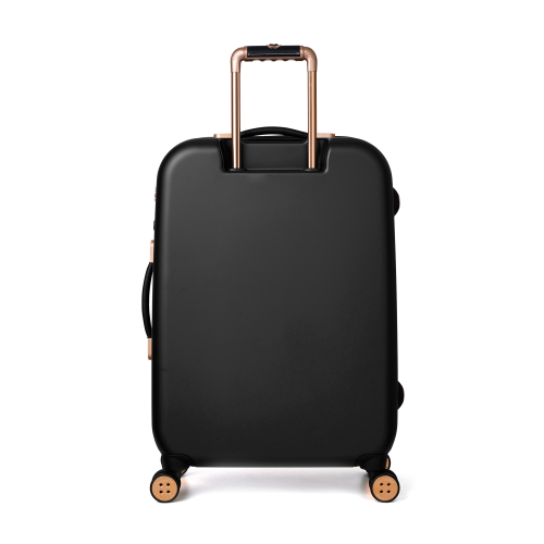 Beau Medium suitcase, L69 x W47.5 x D28cm, Black