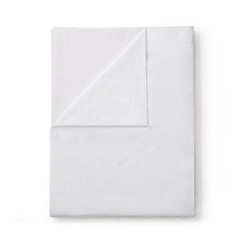 Organic Classic - 400 Thread Count Super king flat sheet, W305 x L275cm, white