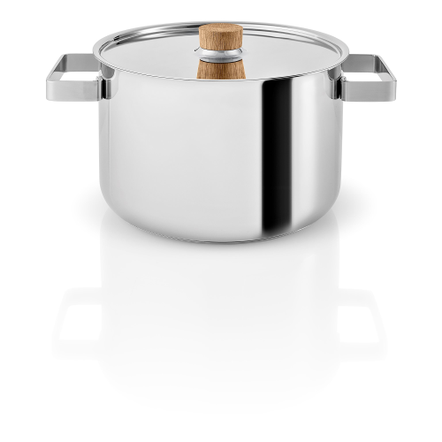 Nordic kitchen Pot, 4 Litre, stainless steel