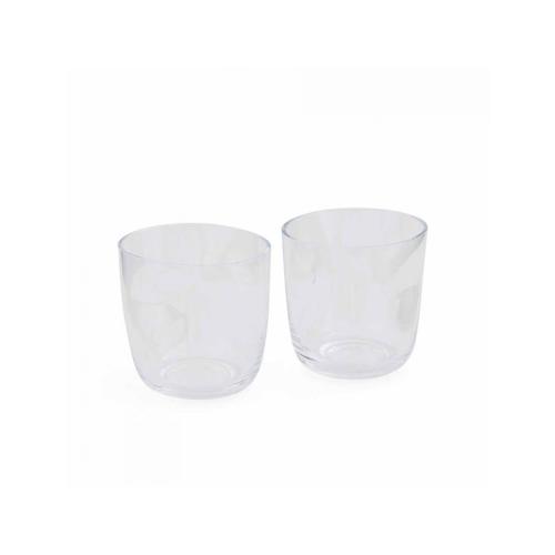 Arbor Glass Tumbler Pair, 350ml, Glass