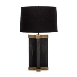 Tillman Table lamp, H84 x D49cm, brass/black