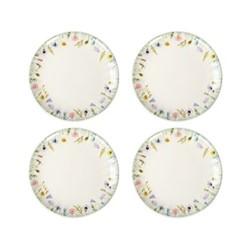 Set of 4 side plates W20 x H2cm