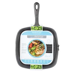 Square grill pan, 23cm, cast iron