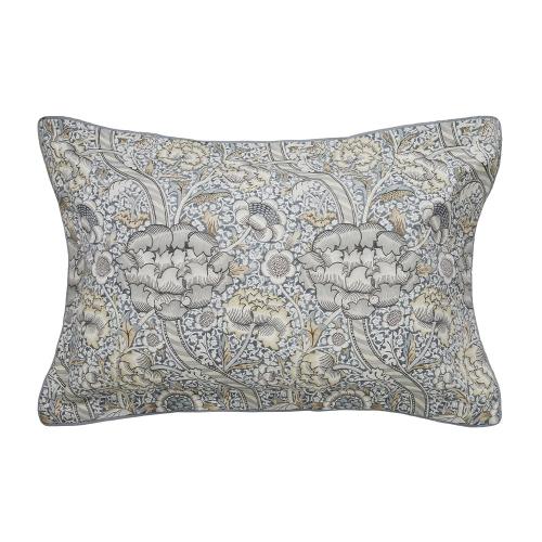Wandle Oxford pillowcase, L48 x W74cm, grey
