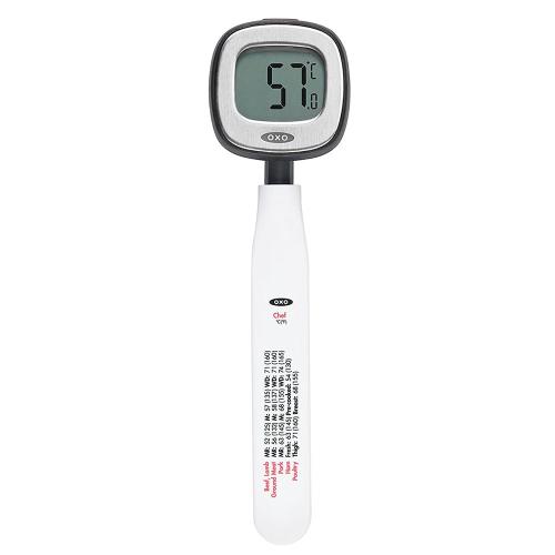 Chefs precision pivoting digital instant read thermometer
