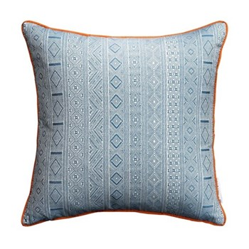 Halsey Cushion, 50 x 50cm, blue orange