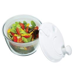 Salad spinner, mini, white
