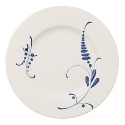 Old Luxembourg Brindille Dinner plate, D27cm, white/blue