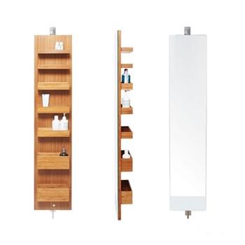 Cabinet H140 x W28 x D18cm