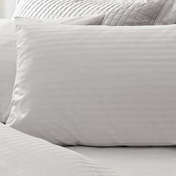 Millennia Standard pair of pillowcases, 50 x 75cm, silver