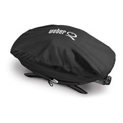 Premium barbecue cover - bonnet cover , fits Q200 & 2000 series, H32 x W48.01 x D82.04cm, black