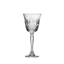 Eternity Set of 6 large wine glasses, H21cm - 25cl, clear