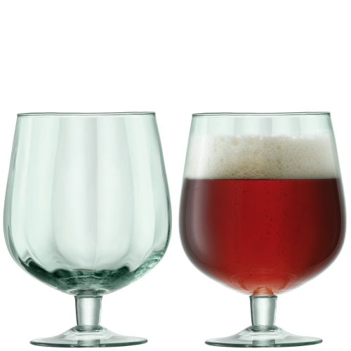 Mia Pair of craft beer glasses, 750ml, recycled glass