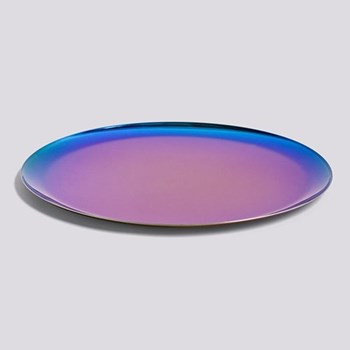 Serving tray, L28 x W28cm, rainbow