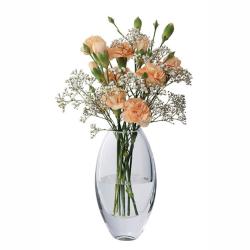 Opus Vase, H23cm, Clear