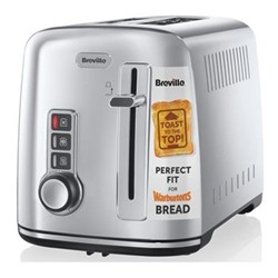 The Perfect Fit for Warburtons - VTT570 Toaster, 2 Slice, stainless steel