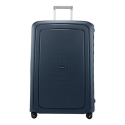 S'Cure Spinner suitcase, 81 x 55 x 35cm, navy blue stripes