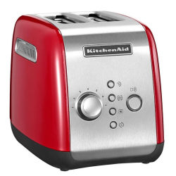 Classic 2 slot toaster, empire red