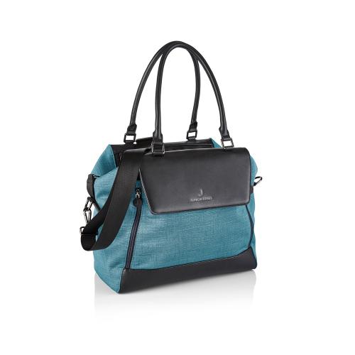 Jessie Changing bag, Caribbean blue, H27 x W34 x L17cm, Blue