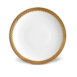 Corde Dessert plate, 22cm, gold