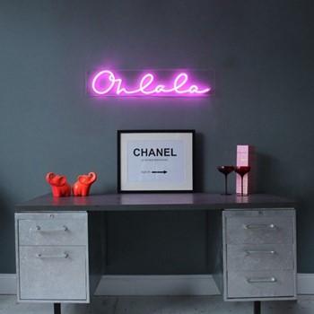 Oh La La Wall light, L90 x H18cm, pink