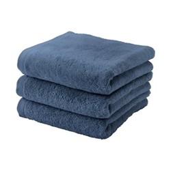 London Hand towel, 55 x 100cm, denim