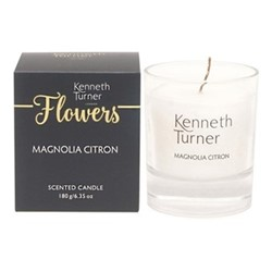 Magnolia Citron Candle, white