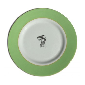 Harlequin - Green Giraffe Tea plate, 16.5cm, green