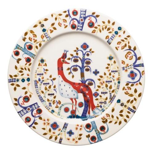 Taika Plate, 22cm, White