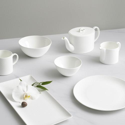 Gio Soup/cereal bowl, 16cm, White/ Bone China