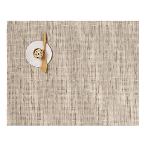 Bamboo Set of 4 rectangular placemats, 36 x 48cm, Oat