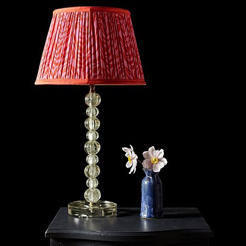 Bonbon Table lamp - base only, H38 x W13cm, clear spheres