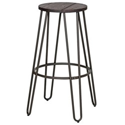 Bar stool, H75 x W40 x D40cm, brown