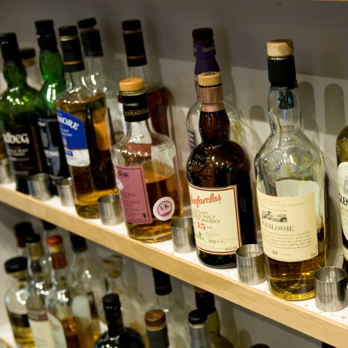 Eighteen year old scotch whisky tasting for two at the Soho Whisky Club