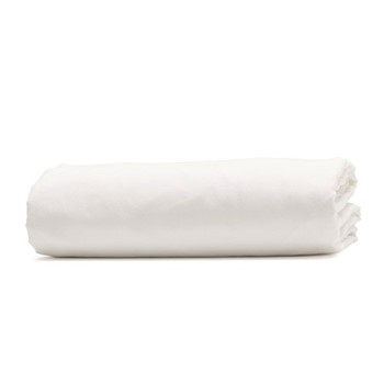 Relaxed Bedding Super king size fitted sheet, 180 x 200cm, snow