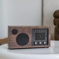 Ambiente Smart speaker, L24 x W12 x H12.5cm, walnut black