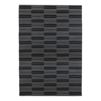 Spindle By Eleanor Pritchard Rug, W170 x L240 x D1cm, flannel grey/flat weave