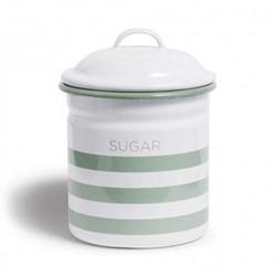 Hempton Sugar canister, 10.8 x 15.25cm, silver