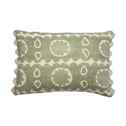 Osborne Cushion, 35 x 50cm, green